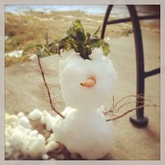 Kylie's snowman #latergram