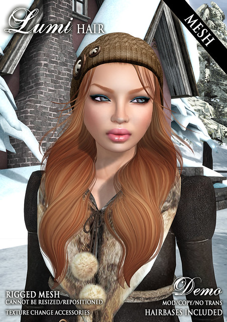 New Lumi Mesh Hair @ FaMESHed!