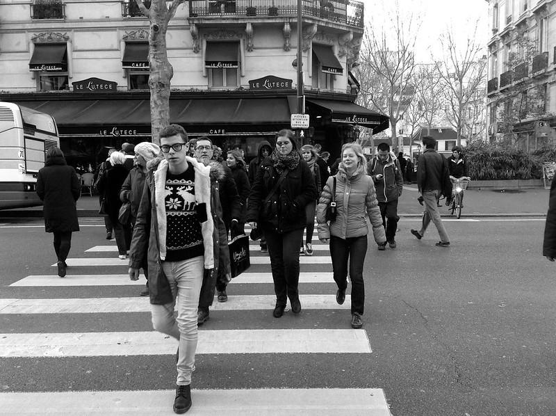 Crosswalk Paris
