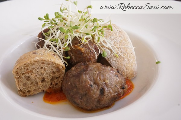 Renoma Cafe Gallery - meatballs