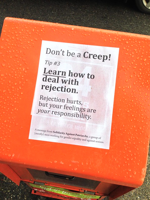 Don't be a Creep! Tip #3: Learn how to deal with rejection. | Turn Editor Criticism Into Profit