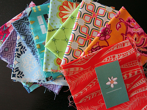 scraps from Stash Modern Fabric