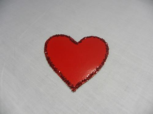 Glittery Love Note
