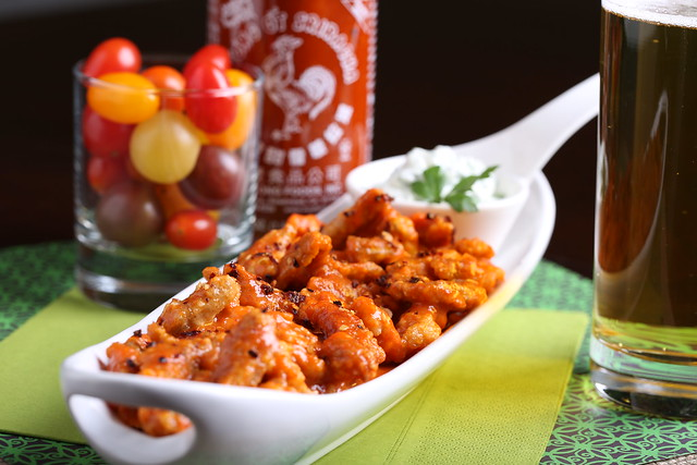 Sriracha-Habanero Vegan Buffalo Wings