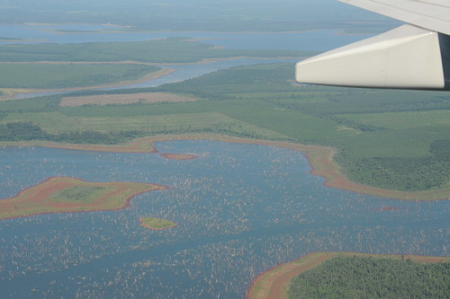 above Iguazu