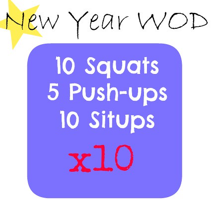 New Year Wod