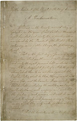 First page of the Emancipation Proclamation