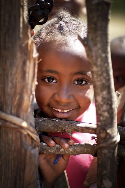 Through the fence - Ethiopia