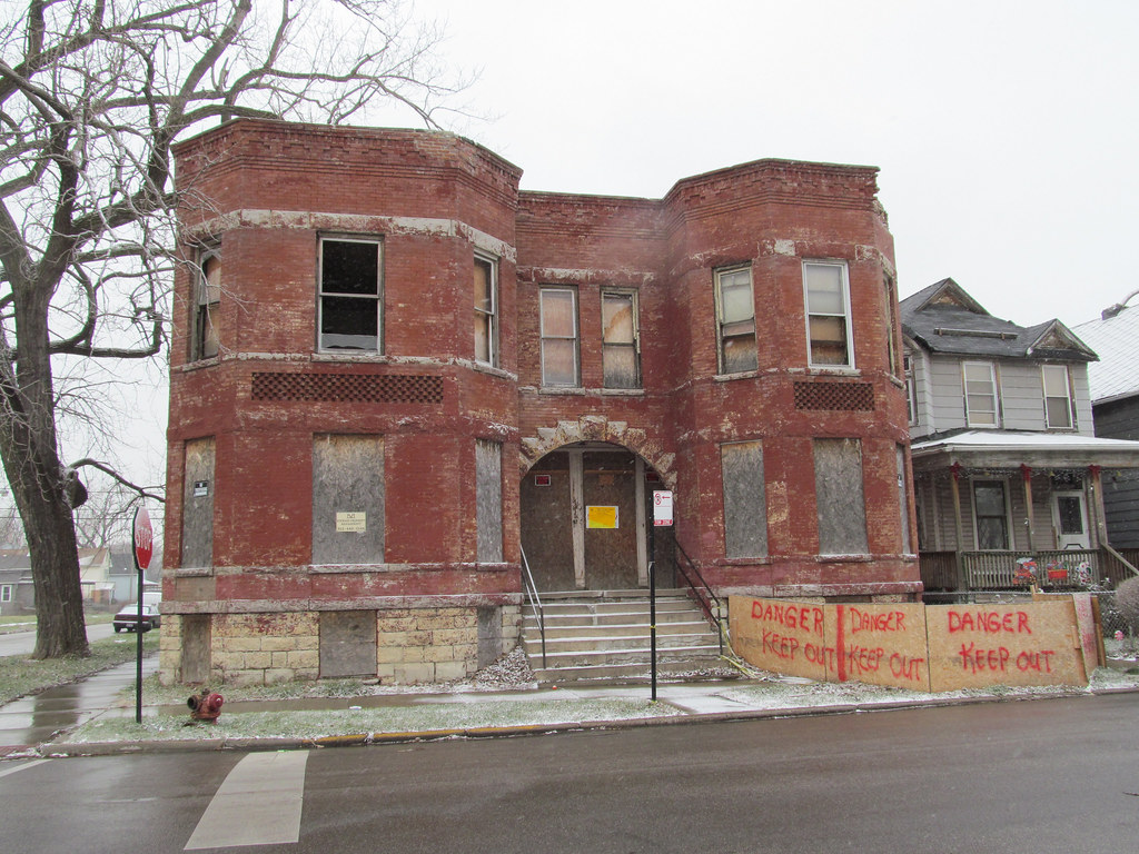 Abandoned Building in Englewood