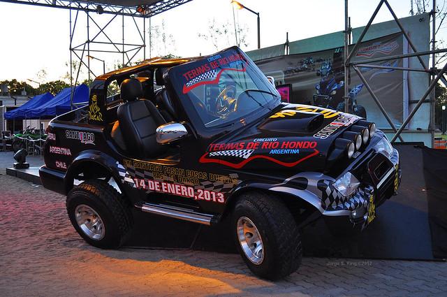 Promoción del Rally Dakar 2013