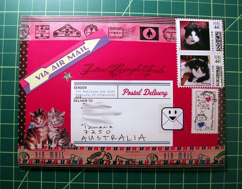 Last mail art of 2012