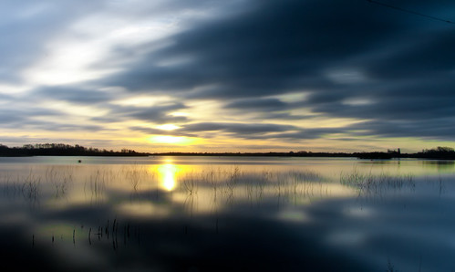 color colour reflection reed sunrise reeds reflect nd ndfilter chasewater neutraldensity