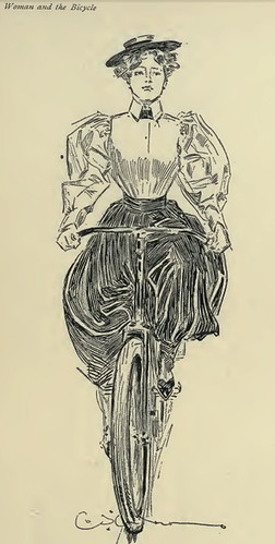 WomanBicycle