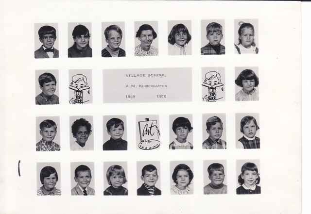 Village School (Holmdel, New Jersey) Class Picture (Kindergarten - 1969-1970)
