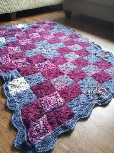 Triple S Blanket - flat