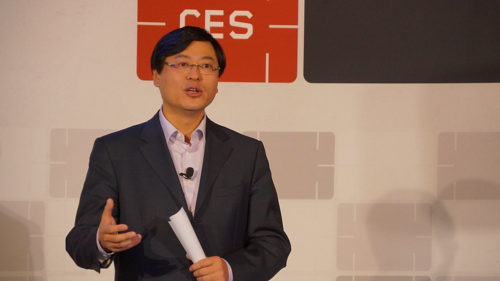 CEO Yuanqing Yang at Lenovo Press Conference