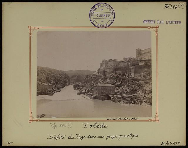 Torno del Tajo el 26 de abril de 1889. Fotografía de James Jackson. © Société de Géographie / Bibliothèque Nationale de France