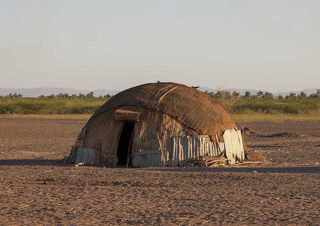 Traditional afar tribe house assaita afar regional state Regional house