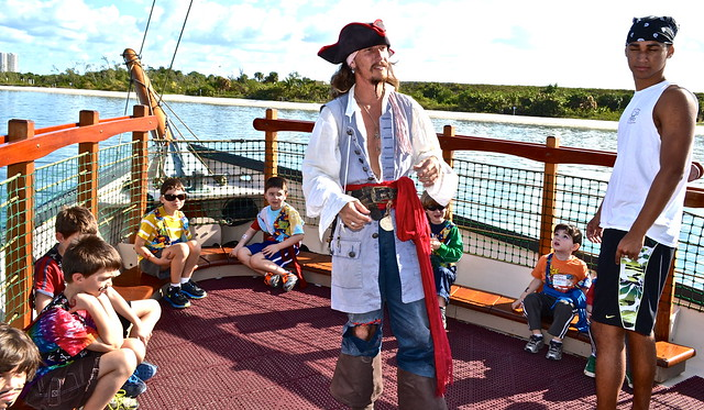 pirate tour family activities in west palm beach florida