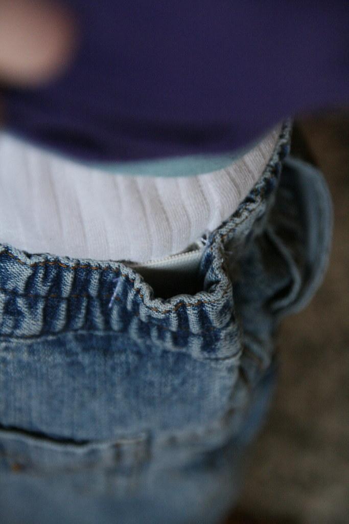 ex-afzakkende broek