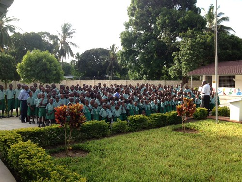 School Pupils at years 1st Assembly