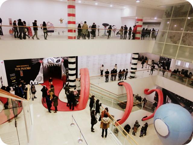 Tim Burton Exhibit in Seoul