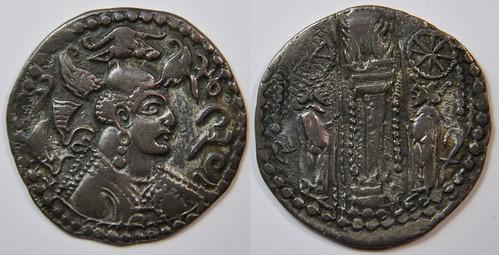 Monnaies des Huns Hephtalites 8380338823_d8322909b7