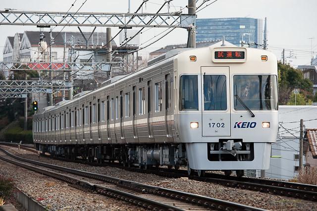 京王電鉄井の頭線1000系 1002F 出場試運転