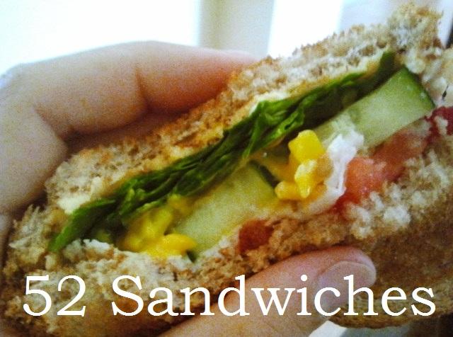 52 sandwiches