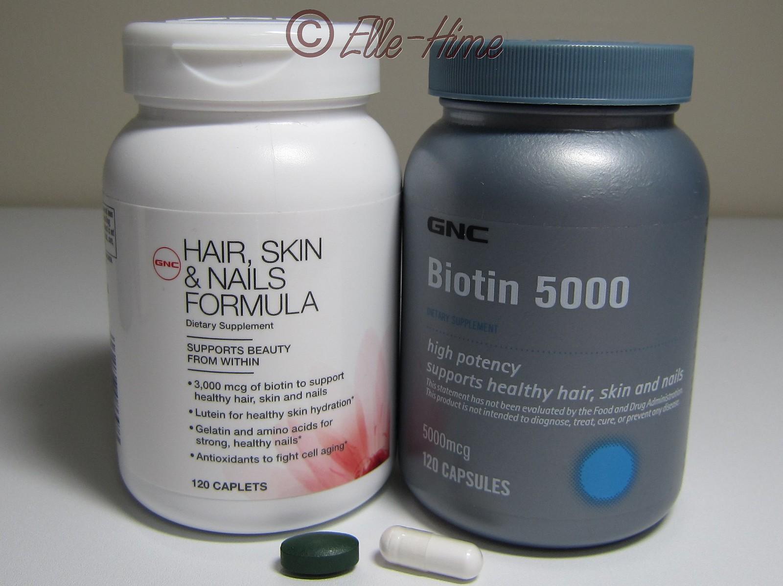 Gnc Hair Skin And Nails Vs Nature S Bounty