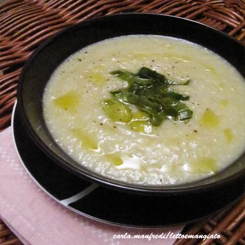 Zuppa con topinambur5