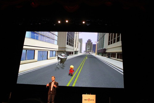Disney Infinity unveil event at El Capitan Theatre