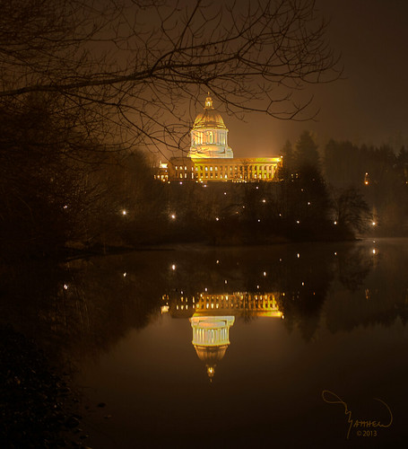 Capitol and Capitol Lake
