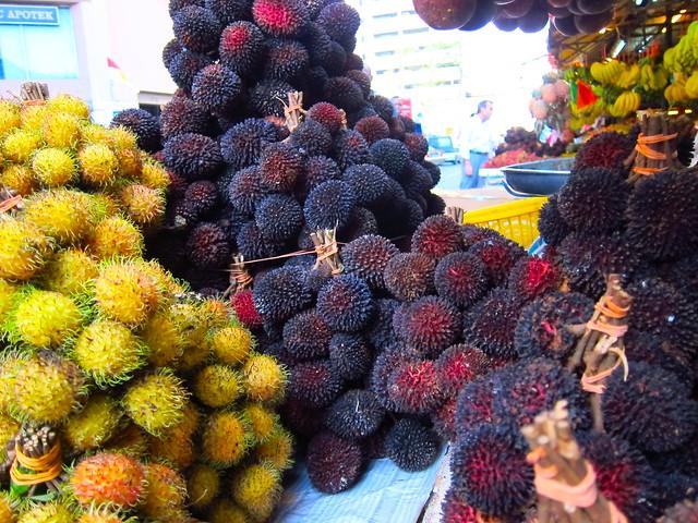 Chow Kit Market - Ramboutans