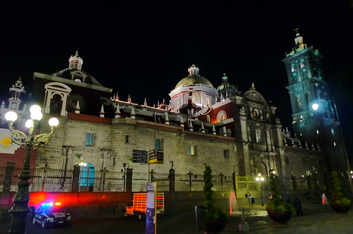 Cathedral - Puebla, Mexico