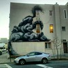 Happy Sunday! #graffiti #street #art #williamsburg #Brooklyn #NYC #January #2013 #dog #raccoon #skunk