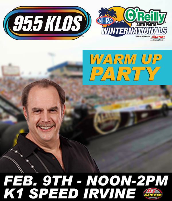8404228864 213fe7f52b b KLOS / NHRA Warm Up Party at K1 Speed!