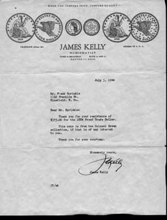Sprinkle 1884 dollar letter