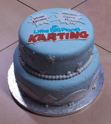 LBP Karting Cake