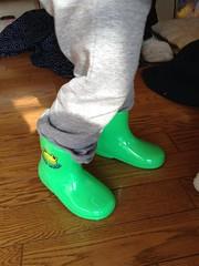 とらちゃんの長靴