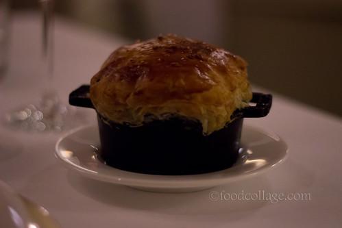 Goose Confit Pot Pie at Auberge du Pommier (Toronto)