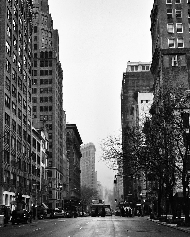 Flatiron #walkingtoworktoday