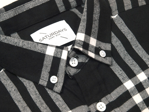 Saturdays Surf NYC / Crosby Triple Plaid Shirt
