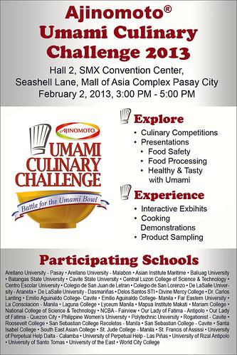 Umami challenge 2013