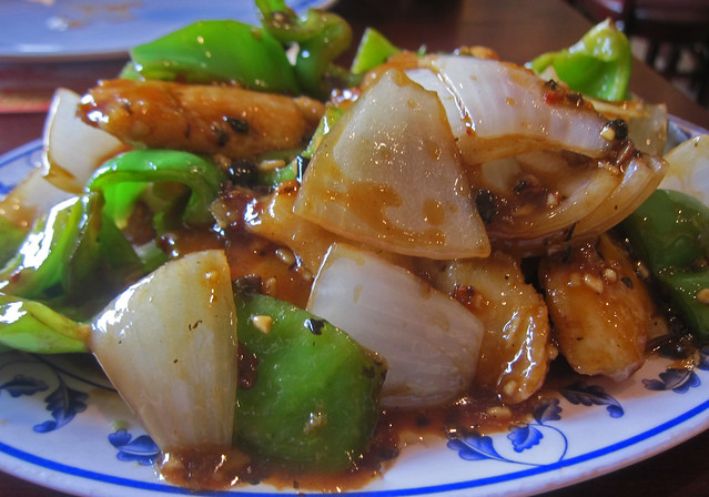 Fish with Black Bean Sauce - Mandarin Canton | Flickr - Photo Sharing!