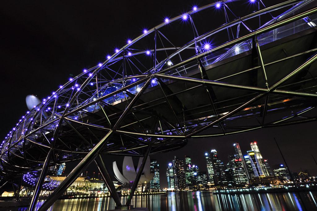 The Helix Bridge 双螺旋桥
