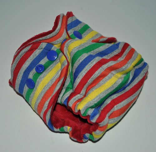 Bumstoppers Newborn Rainbow after the Storm Hybird Fitted **New Style**