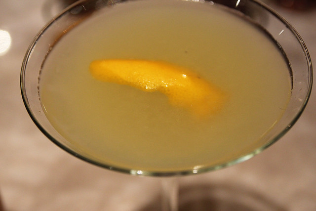 Meyer Lemon Gimlet organic cocktail by Caroline on Crack