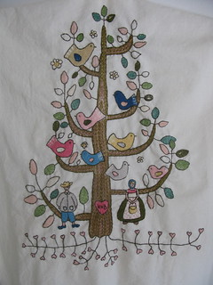 Tree of Life Crewelwork