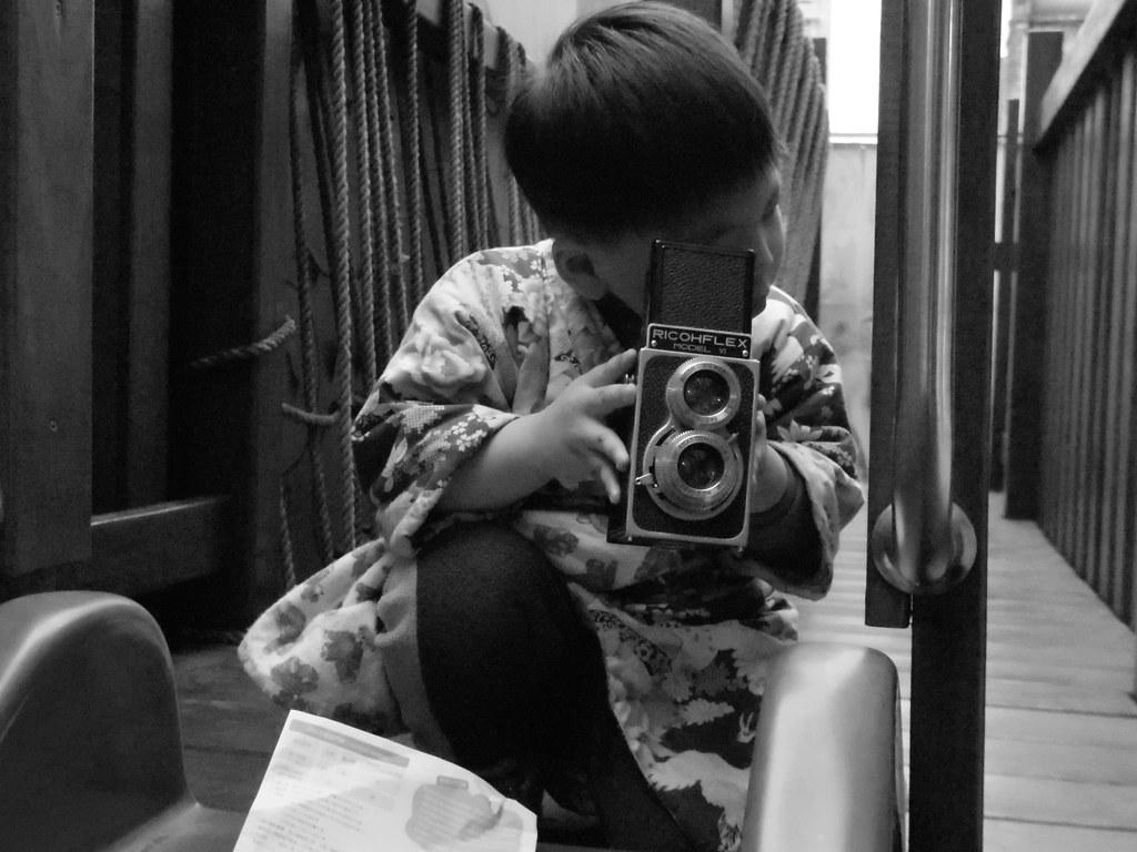 小正太Lucas 準備下課~by Pentax Q #1